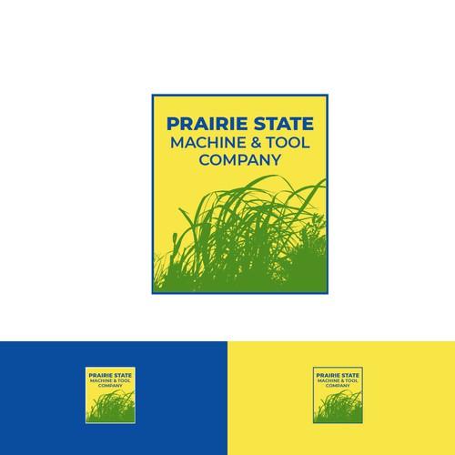 Prairie grass logo