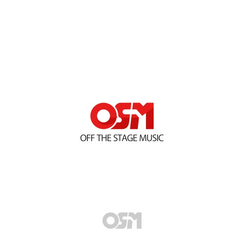 Letter Initial Logo Concept for Off The Stage Music