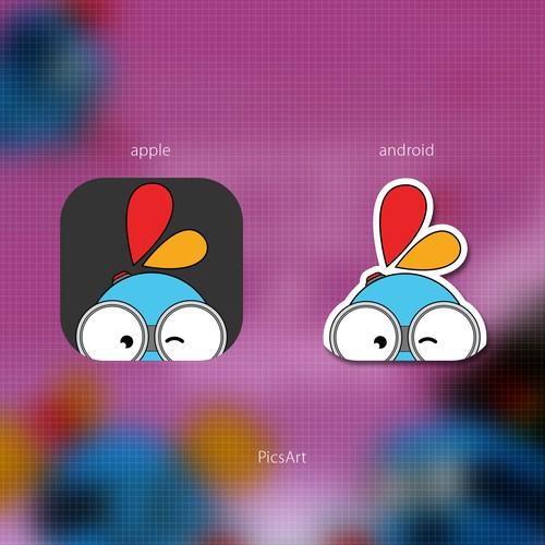 Icon design for PicsArt