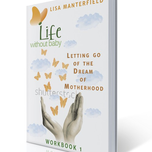 Design an eBook cover for the first in a series of four women's self-help books