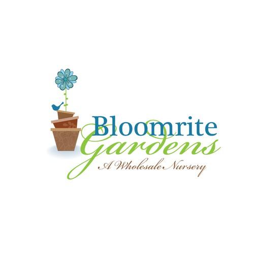 Bloomrite Gardens needs a new logo