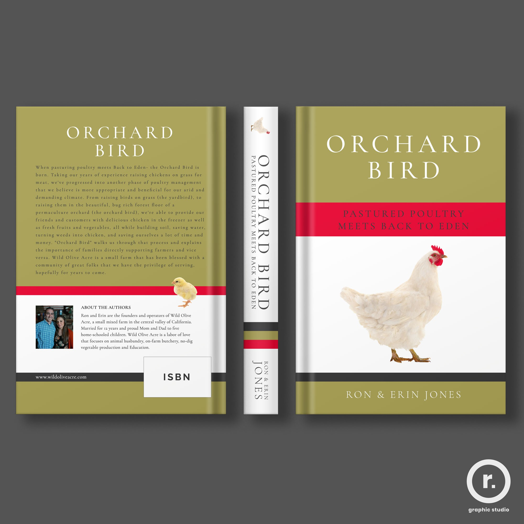 Small permaculture farm needing paperback cover design for use as business promotional.