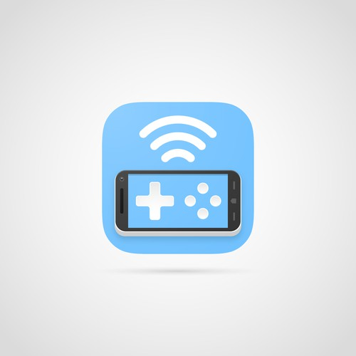 Smartphone gamepad - App icon