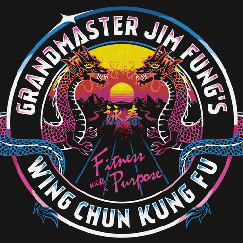 T-shirt design for a Kung Fu Gym