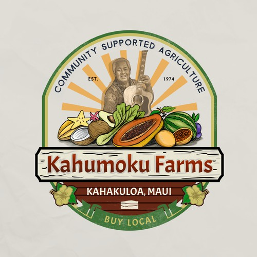 Logo for Fruit farm in hawaii