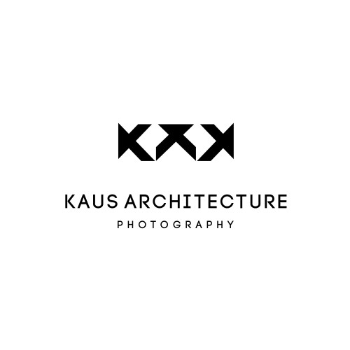 Logo concept for architecture photographer