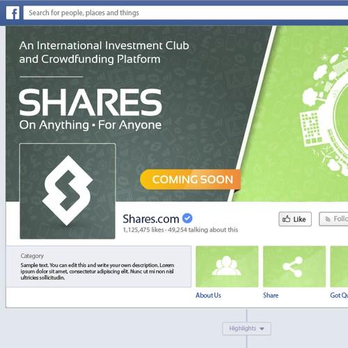 Shares.com; Social Media Design