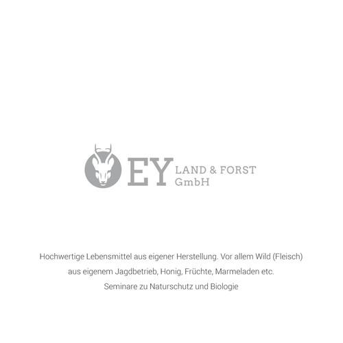 Roe deer logo