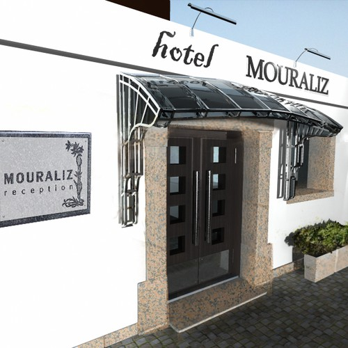 Create the next book or magazine design for Hotel Mouraliz