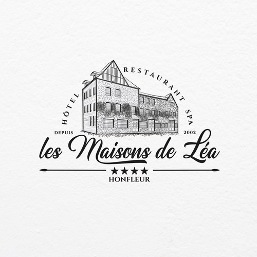 Luxury hotel logo design