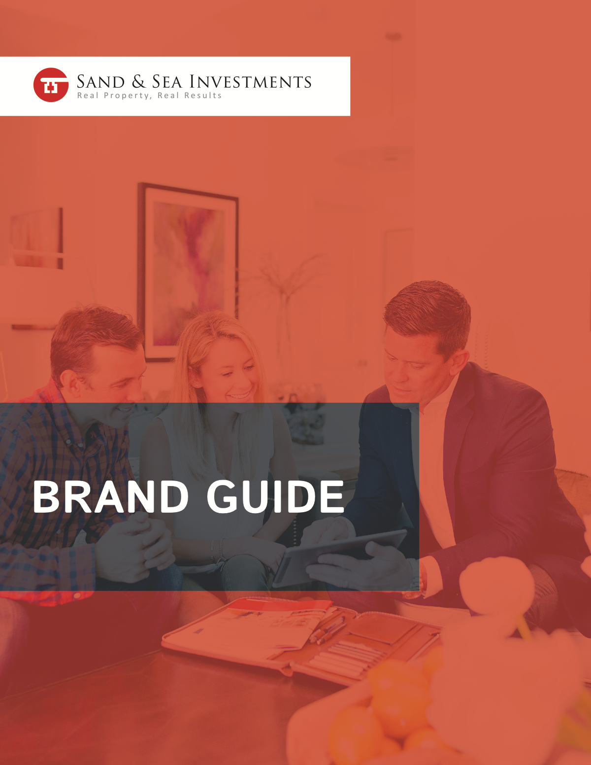 Single Page Brand Guide