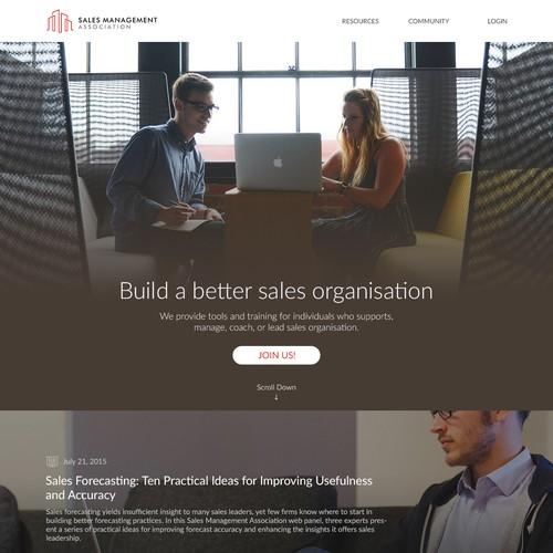 SalesManagement Website