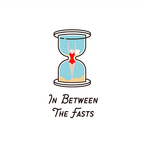 Logo for a podcast about intermittent fasting