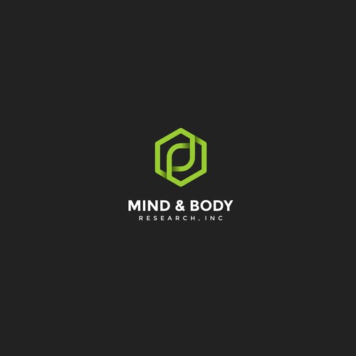 Minimalist logo for Mind & Body Research, Inc