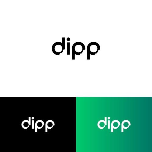 dipp logo design
