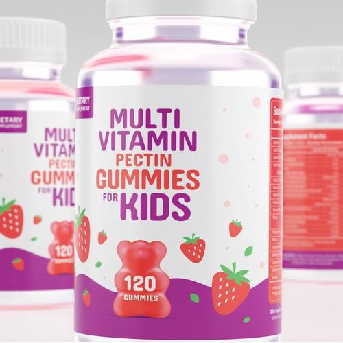 Vitamin Label Design