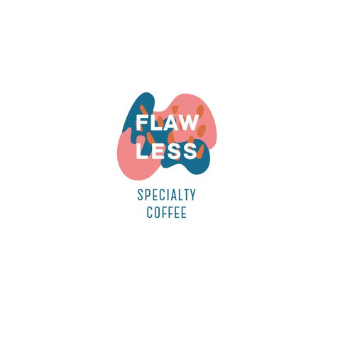 Abstract logo concept for a coffee brand