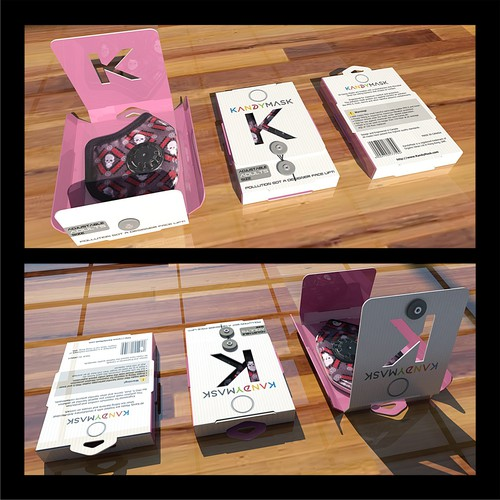KandyMask packaging design