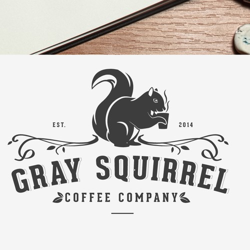 Logo for a small batch artisan coffee roasting company.