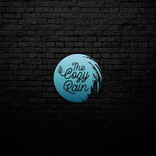 Logo concept for The Cozy Rain
