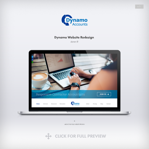 Freelancer accounting services website