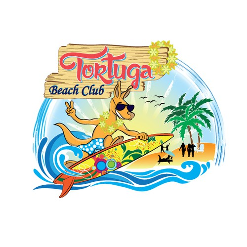 Create a super logo for a Beach club!!