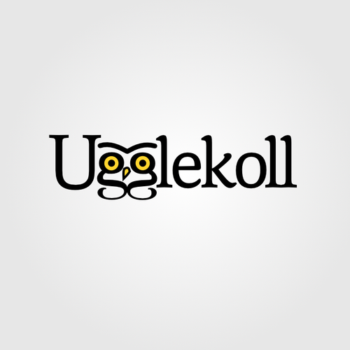 Ugglekoll - a logo for a Swedish accounting firm