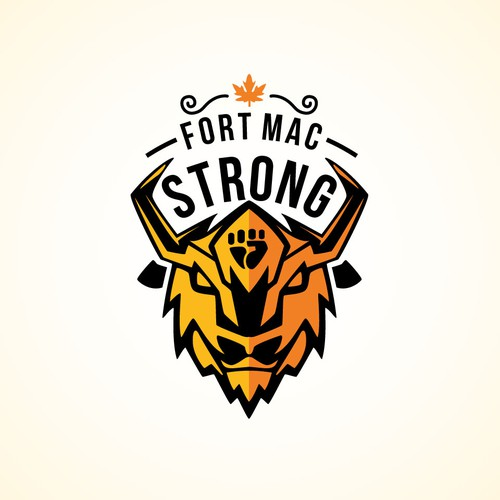 Design logo - Supporting Fort Mac Wildfires