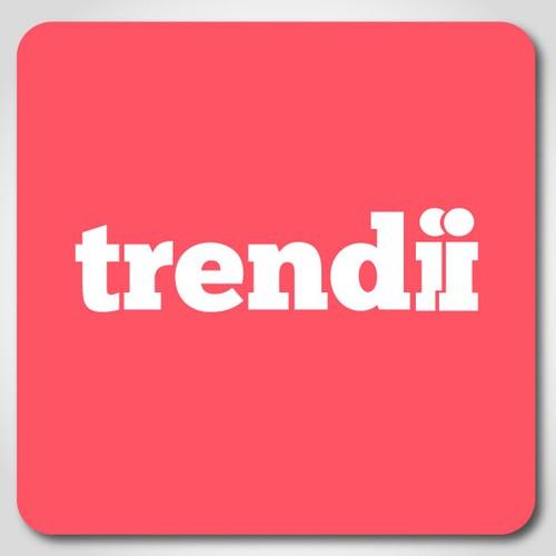 Logo for trendii