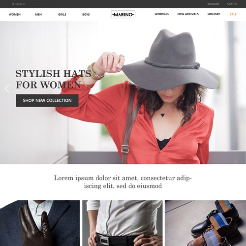 Fashion & Style Website Design