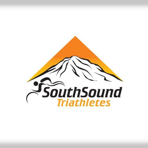 Logo Design for Southsound Triathlete's (SST)