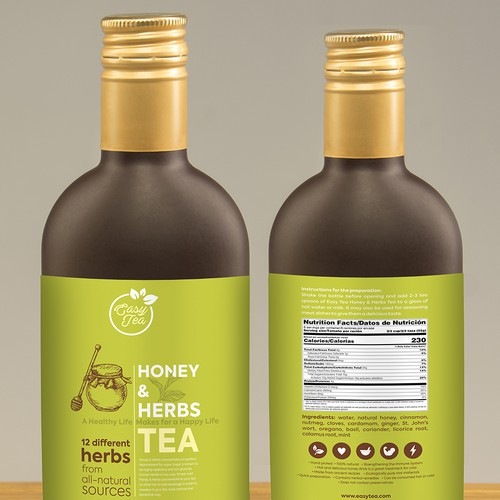 Design concept of Easy Tea