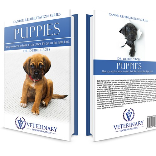 Book Cover Design for Veterinary Teaching Academy's series