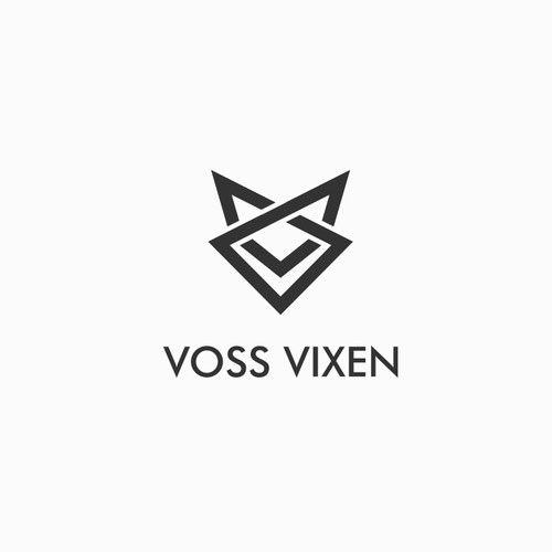 simple symmetrical design for VOSS VIXEN an active wear brand