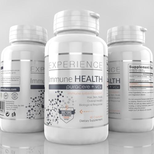 Clean Medicine looking Design
