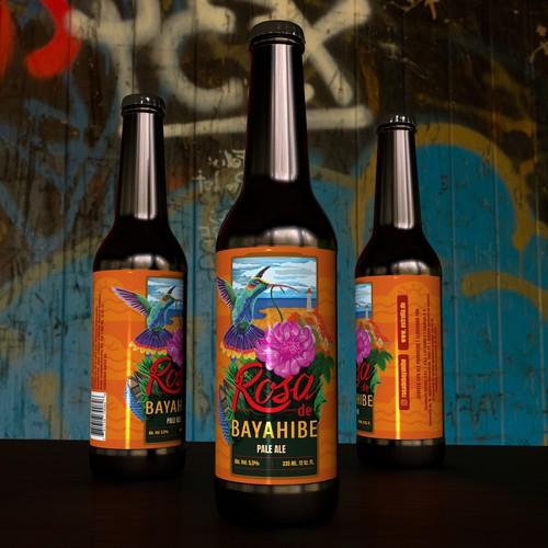 Beer label design and Illustration