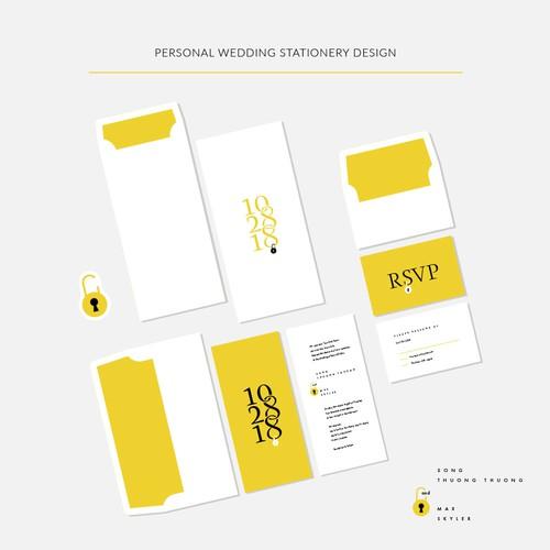 Personal Wedding Stationery Design