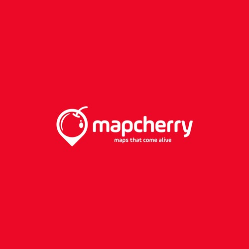 Design a clean memorable logo for Map Cherry