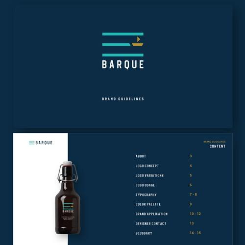 Barque Logo & Brand Guidelines