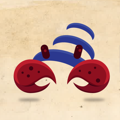 Create a modern and elegant Hermit Crab logo.