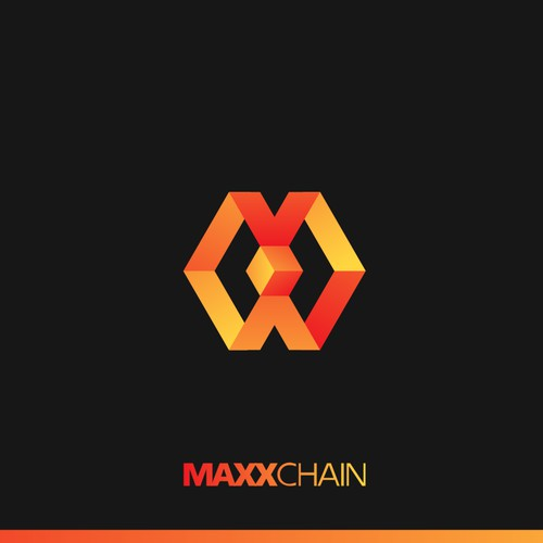 Logo Design For MaxxChain