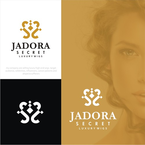 logo for the most luxurious Wigs brand!