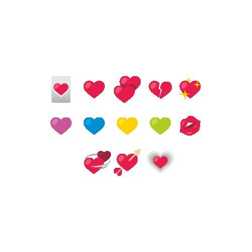 Emoji Love Icons