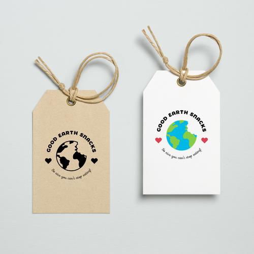 Logo concept for Good Earth Snacks