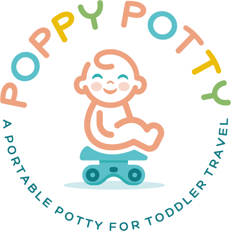Portable toddler potty that makes poop more fun for parents!