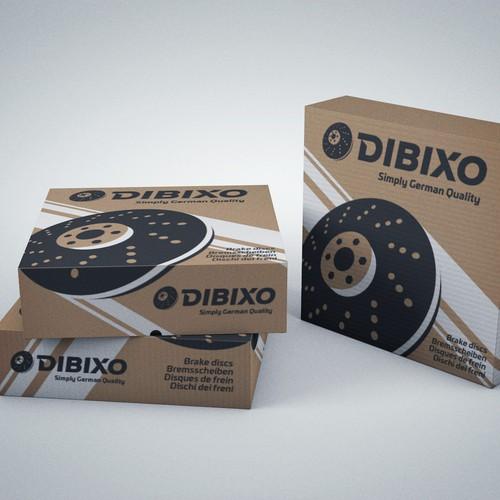 Dibixo Brake Discs Packaging