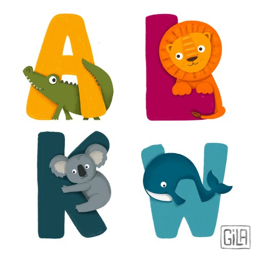 Children Animal Alphabet