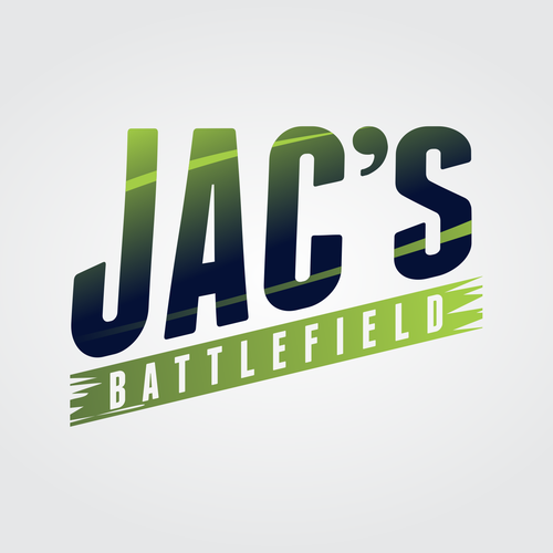 Bold logo concept for JAC'S Battlefield