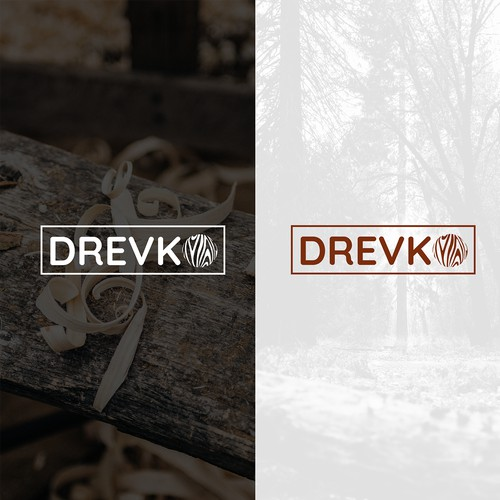 Logo design for company with wooden products