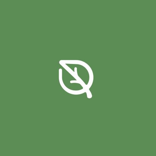 minimalist flat modern logo design
